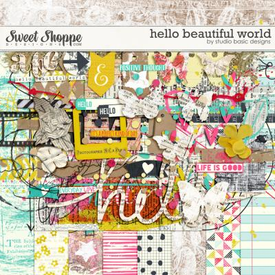 Hello Beautiful World: Kit by Studio Basic