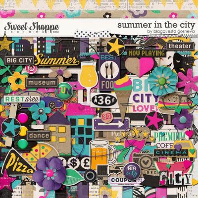 Summer in the city by Blagovesta Gosheva