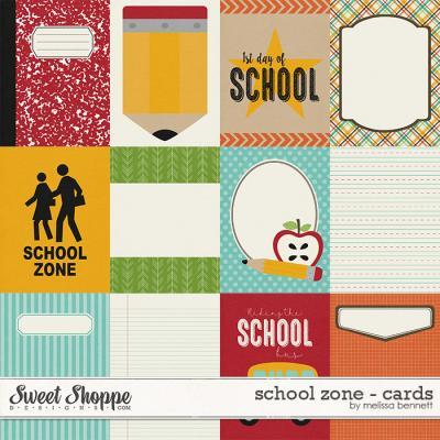 School Zone - Cards by Melissa Bennett