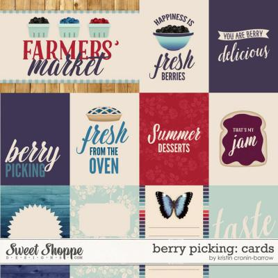 Fruit Stand: Berry Picking Cards by Kristin Cronin-Barrow