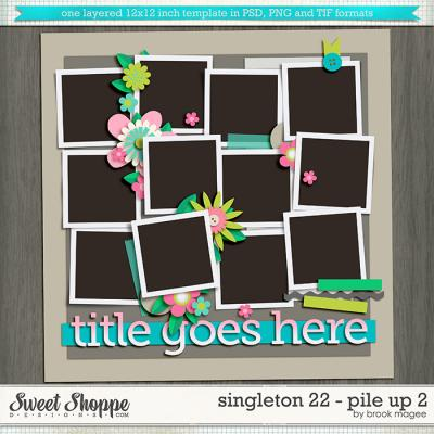 Brook's Templates - Singleton 22 - Pile Up 2 by Brook Magee