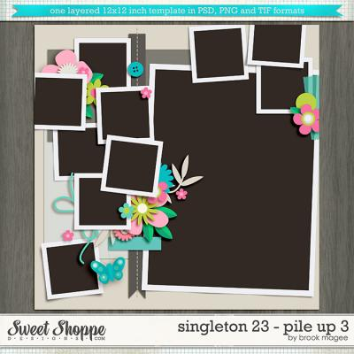 Brook's Templates - Singleton 23 - Pile Up 3 by Brook Magee