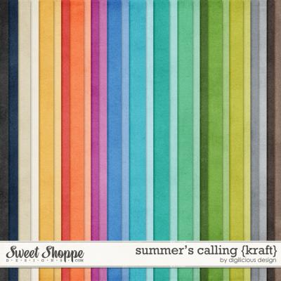 Summer's Calling {Kraft} by Digilicious Design