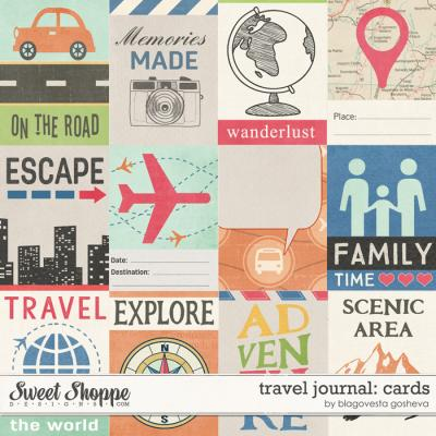 Travel Journal: Cards by Blagovesta Gosheva