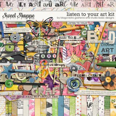 Listen to Your Art by Blagovesta Gosheva & Studio Basic Designs
