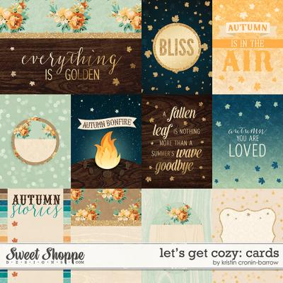 Blissful Autumn Cards by Kristin Cronin-Barrow