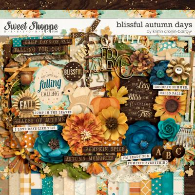 Blissful Autumn Days by Kristin Cronin-Barrow