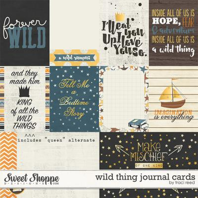 Wild Thing Cards by Traci Reed