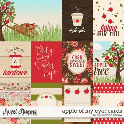 Apple of my Eye: Cards by Kristin Cronin-Barrow