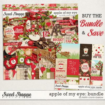 Apple of my Eye: Bundle by Kristin Cronin-Barrow