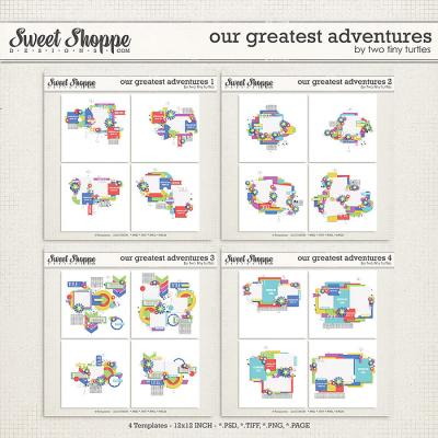 Our Greatest Adventures Bundle by Two Tiny Turtles