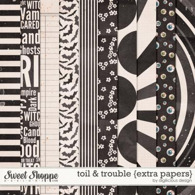 Toil & Trouble {Extra Papers} by Digilicious Design