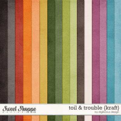 Toil & Trouble {Kraft} by Digilicious Design