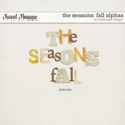 The Seasons: Fall Alphas by Studio Basic