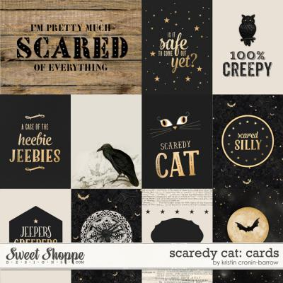 Scaredy Cat: Cards by Kristin Cronin-Barrow