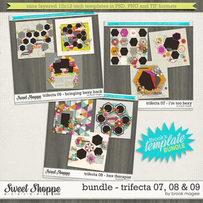 Brook's Templates - Bundle - Trifecta 07, 08 & 09 by Brook Magee