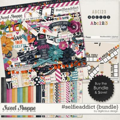 #selfieaddict {Bundle} by Digilicious Design