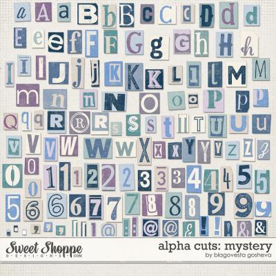 Alpha Cuts: Mystery by Blagovesta Gosheva
