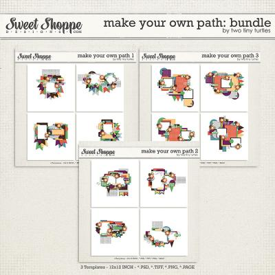 Make Your Own Path: Bundle by Two Tiny Turtles