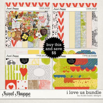 I Love Us Bundle by Studio Basic