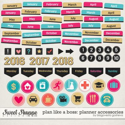 Plan Like a Boss: Planner accessories by Blagovesta Gosheva