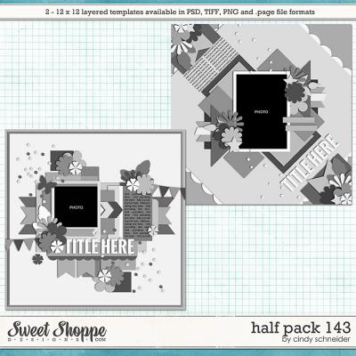 Cindy's Layered Templates - Half Pack 143 by Cindy Schneider