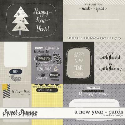 A New Year - Cards - by Red Ivy Design