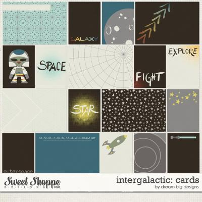 Intergalactic: Cards by Dream Big Designs