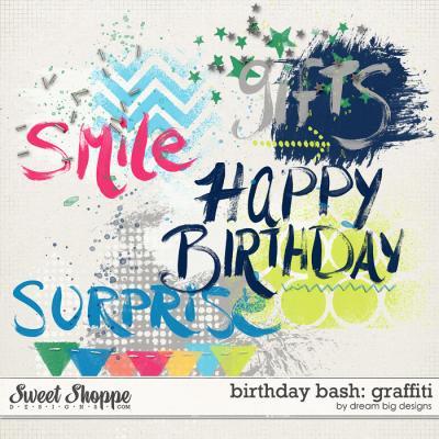 Birthday Bash: Graffiti by Dream Big Designs