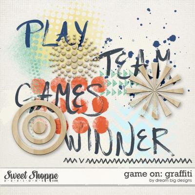 Game on: Graffiti by Dream Big Designs