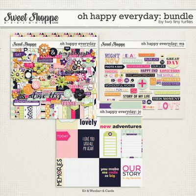 Oh Happy Everyday: Bundle by Two Tiny Turtles