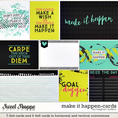 Make It Happen-Project Cards by Meghan Mullens