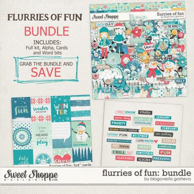Flurries of fun {bundle} by Blagovesta Gosheva