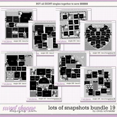 Cindy's Layered Templates - Lots of Snapshots Bundle 19 by Cindy Schneider