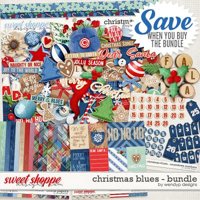Christmas Blues - Bundle by WendyP Designs