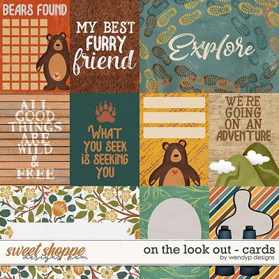 On the look out - cards by WendyP Designs