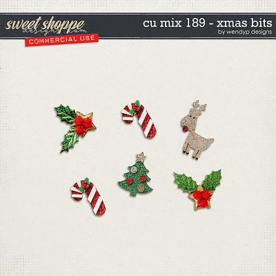 CU Mix 189 - xmas bits by WendyP Designs