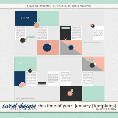 This Time of Year: January [Templates] by Crystal Livesay