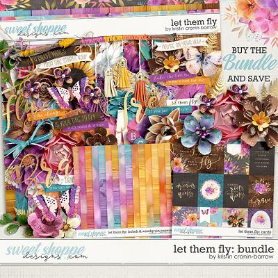 Let them Fly: Bundle by Kristin Cronin-Barrow