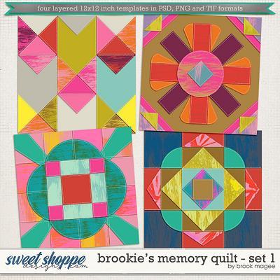 Brookie's Memory Quilt - Set 1
