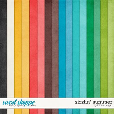 Sizzlin' Summer {Solids} by Digilicious Design