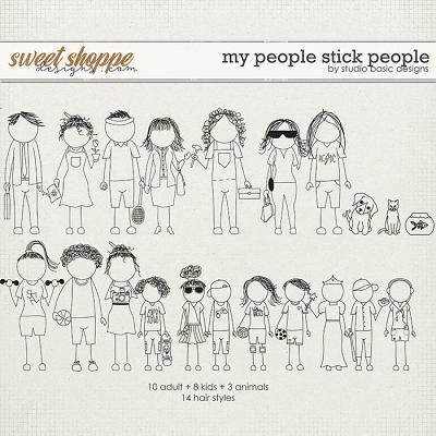 My People Stick People by Studio Basic
