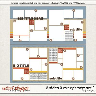 2 Sides 2 Every Story: Set 2 by LJS Designs