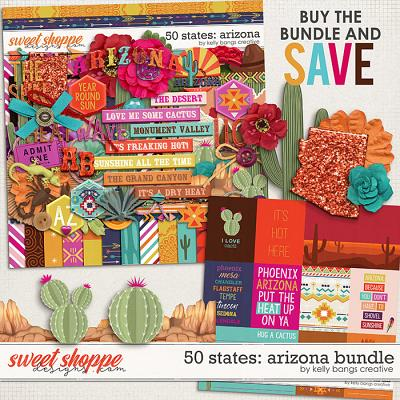 50 States: Arizona Bundle by Kelly Bangs Creative