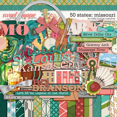 50 States: Missouri by Kelly Bangs Creative