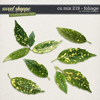 CU Mix 219- leafs by WendyP Designs