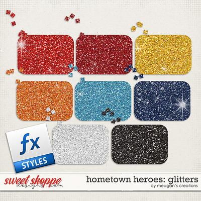 Hometown Heroes : Glitters by Meagan's Creations