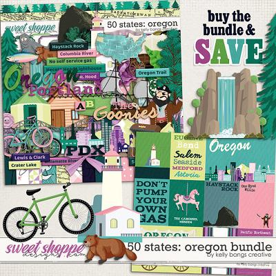 50 States: Oregon Bundle by Kelly Bangs Creative
