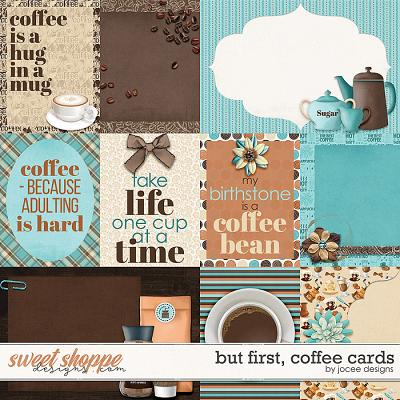 But first, Coffee Cards by JoCee Designs