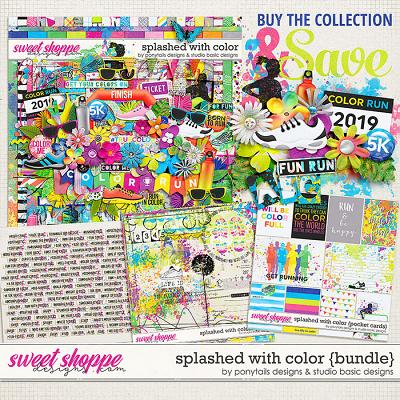 Splashed With Color Bundle by Ponytails Designs & Studio Basic